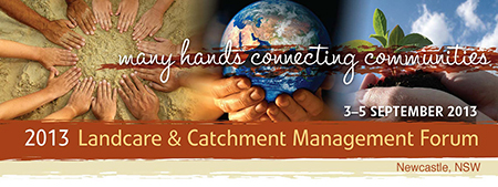 Many hands connecting communities
