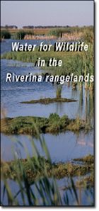 Water for wildlife in the Riverina rangelands